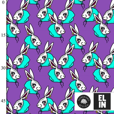 Hooded Rabbit Lilac