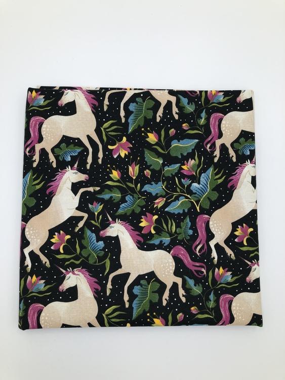 Unicorns Woven Cotton