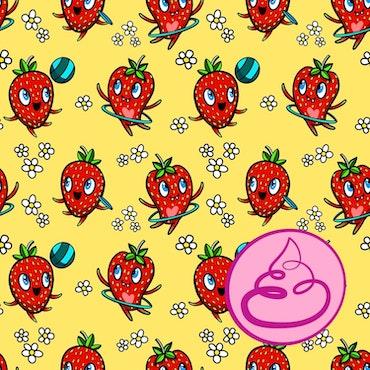 Strawberry Yellow Jersey