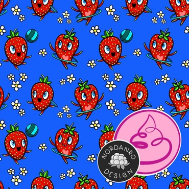 Strawberry Royal Blue Jersey