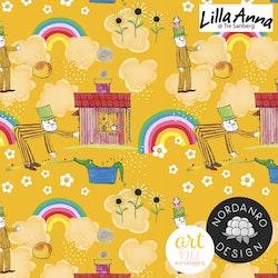 Lilla Anna & Långa Farbrorn Mustard (004) Jersey