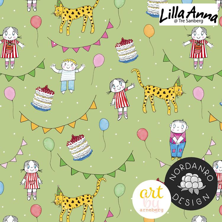 Lilla Anna på Kalas Green (011) Jersey