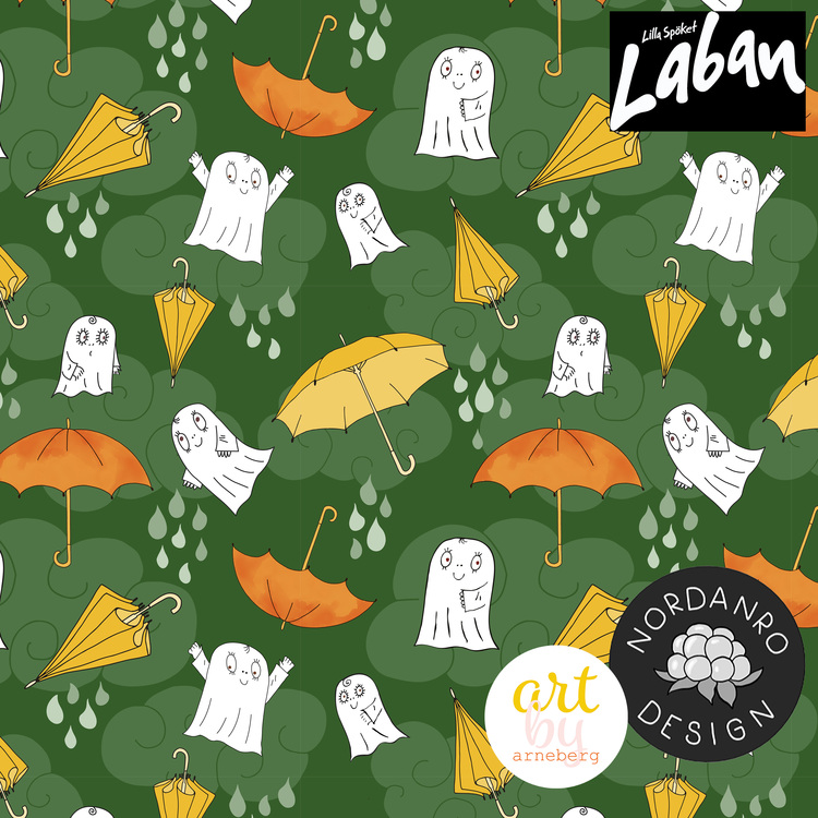 Laban Regnvädersdag Dark Green (010) Jersey