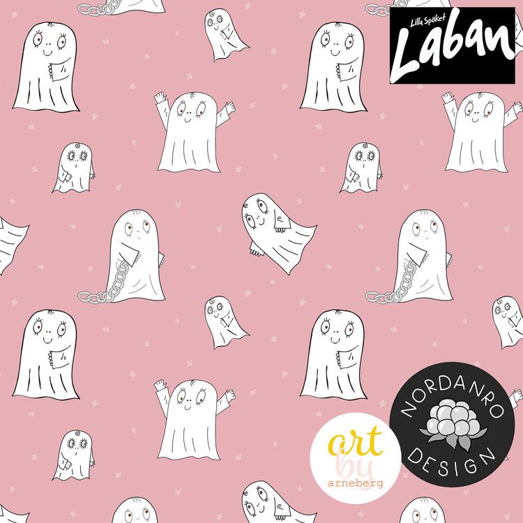 Spöket Laban Pink (007) French Terry