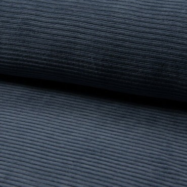 Ribbad Velour Jeans