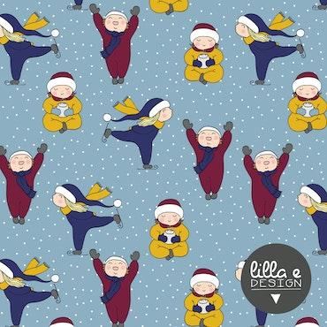 Winter Joy Blue (012) Jersey