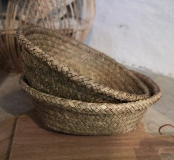 Korg bambu liten
