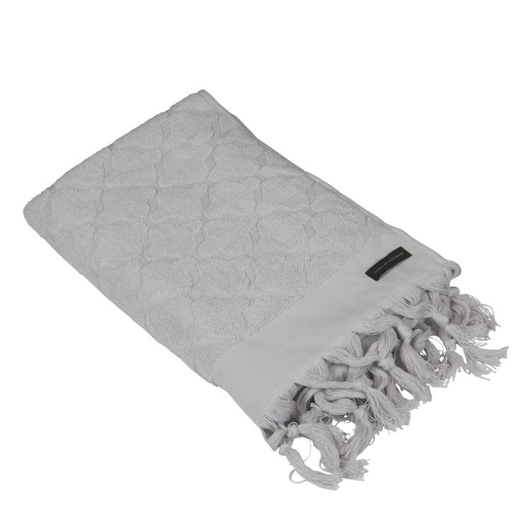 Miah Handduk 50x70 Ljusgrå