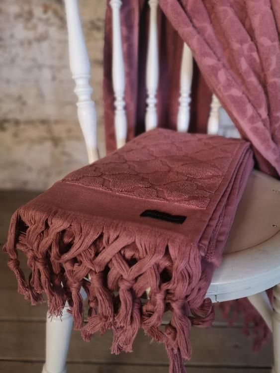 Miah Handduk 70x140 Rosa