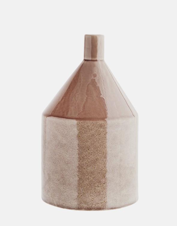 Keramikvas ljus karamell