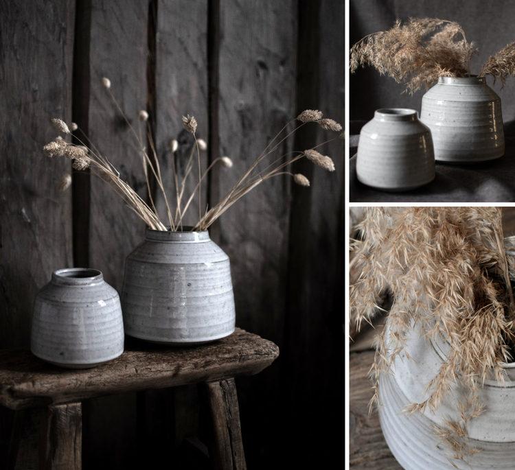Kyrkbacken keramikvas - liten