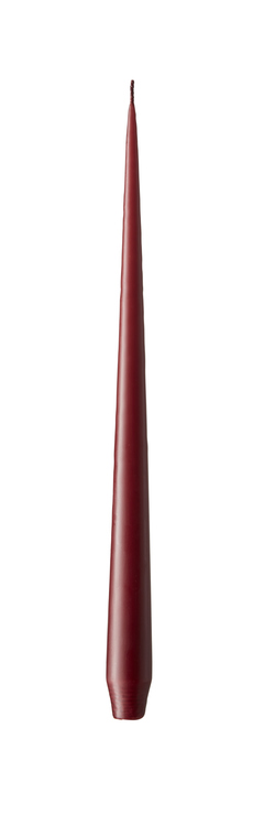 Ester & Erik ljus, 32 cm - Wine Red Matt