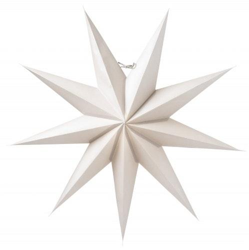 Watt & Veke Adventsstjärna Boris 70 Ljusgrå