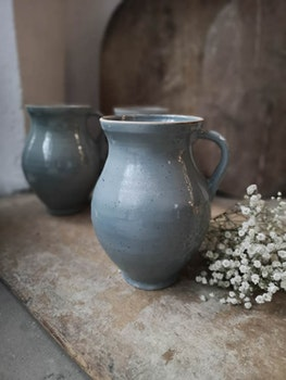 Keramikvas Ljusblå