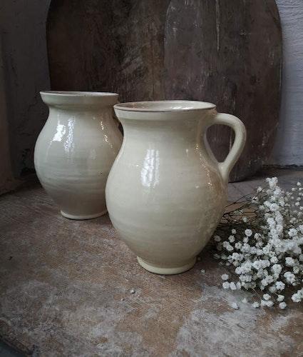 Keramikvas Beige