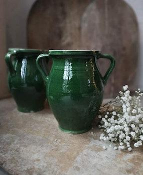 Keramikvas Grön