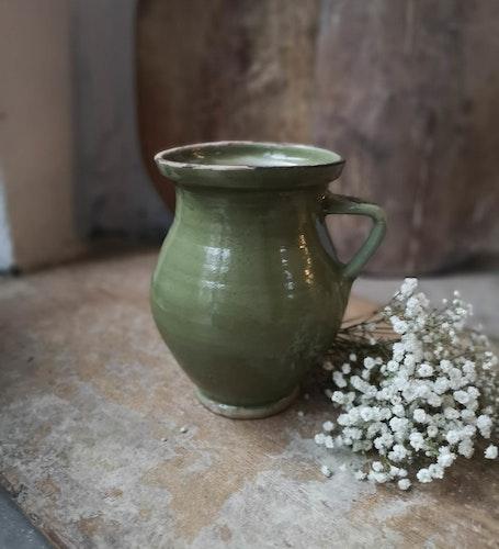 Keramikvas Ljusgrön
