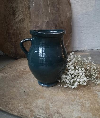 Keramikvas Mörkblå