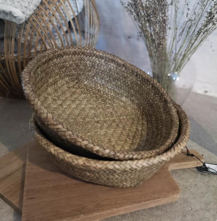 Korg bambu stor