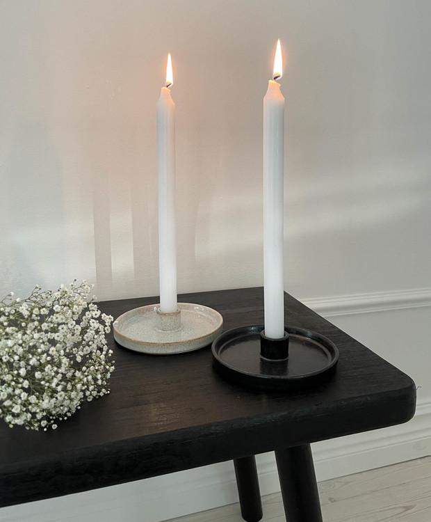 Ljusstake Isabell svart