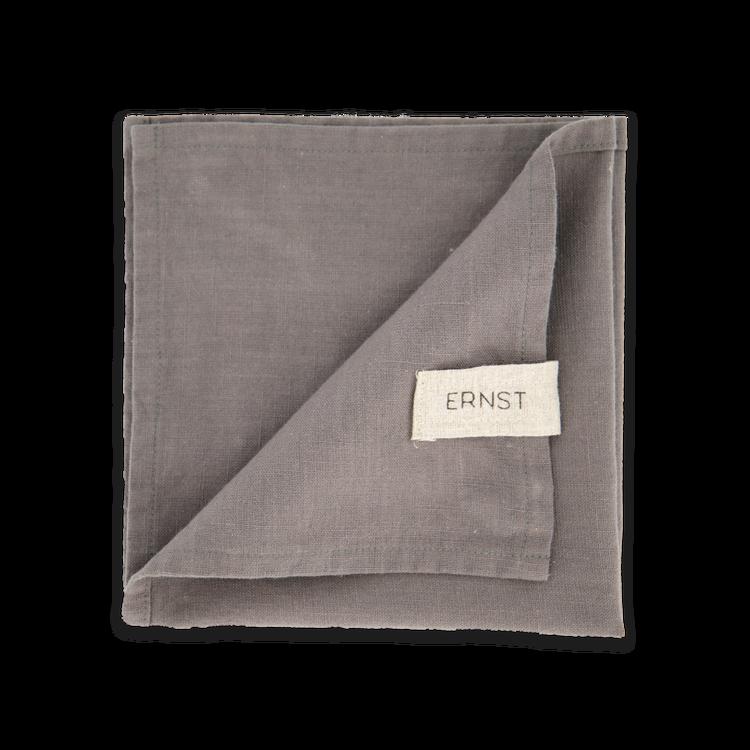 ERNST Servett 2-pack Grå