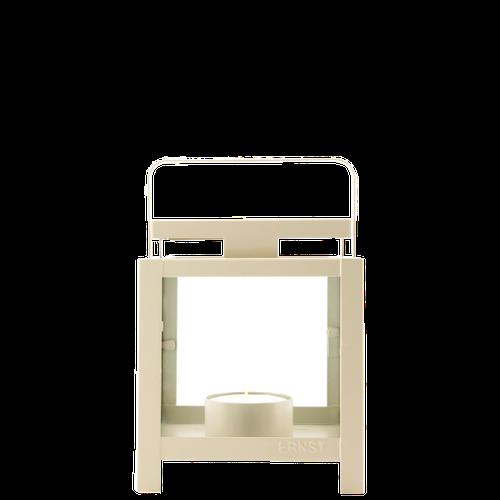 ERNST Ljuslykta beige/grå liten