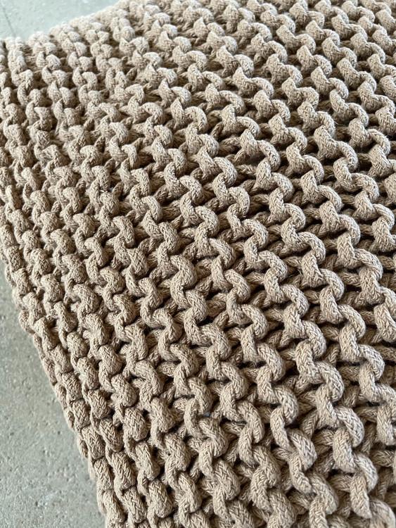 Kuddfodral Rope Chestnut