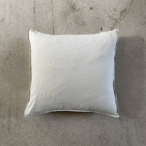 Kuddfodral Linne Warm Grey