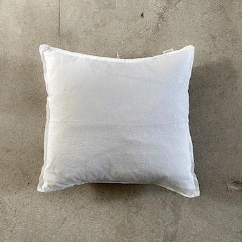Kuddfodral Linne Bleached white