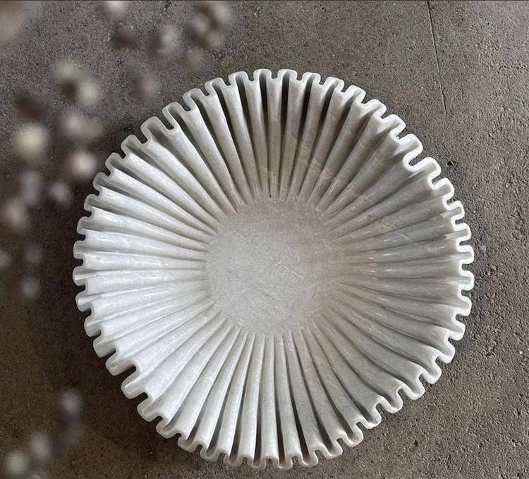 Fat/skål marmor