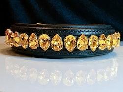 Liz Dog Collar, Sunflower
