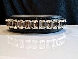 Octagon Dog Collar, Silver shade