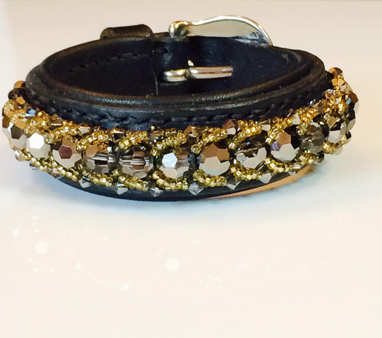 Passion leather bracelet #1
