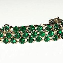 Simple wrap bracelet Emerald