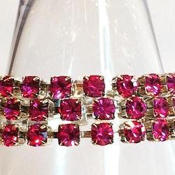 Simple wrap bracelet Fuchsia