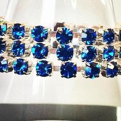Simple wrap bracelet Capri Blue
