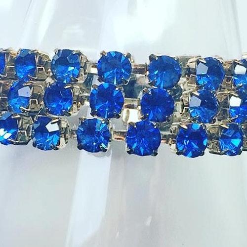 Simple wrap bracelet Sapphire
