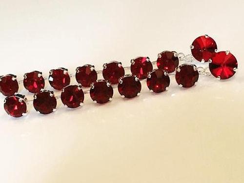Just Red Earrings