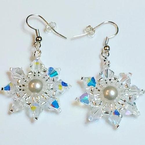 Simple Snowflake Earrings