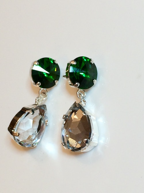 Slytherin Earrings #2