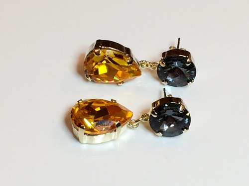 Hufflepuff Earrings #2
