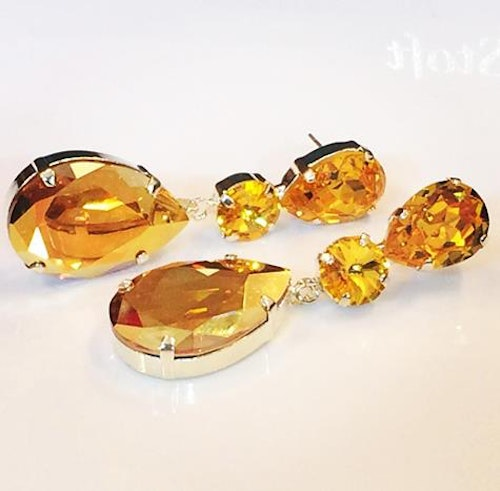 Liz Exclusive earrings SunflowerMetallic