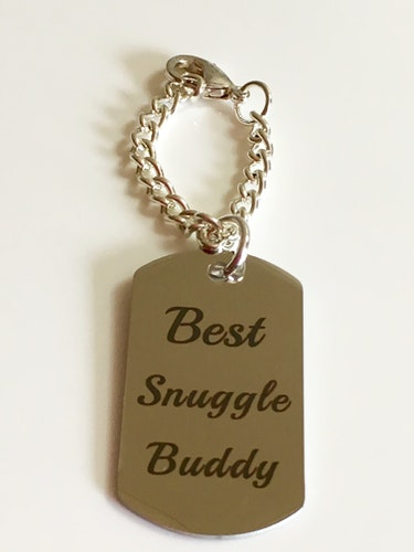 Dog tag, Best Snuggle Buddy
