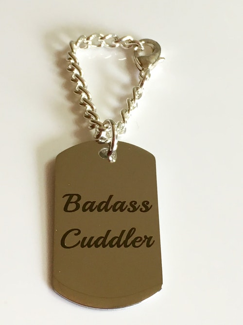 Dog tag, Badass Cuddler