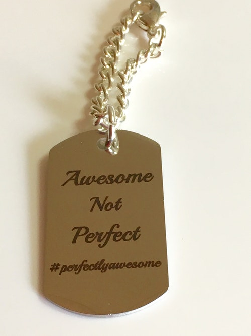 Dog tag, #perfectlyawesome