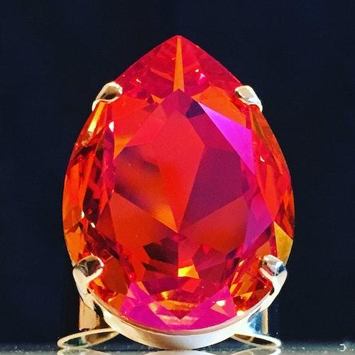 Liz Big Ring Astral Pink