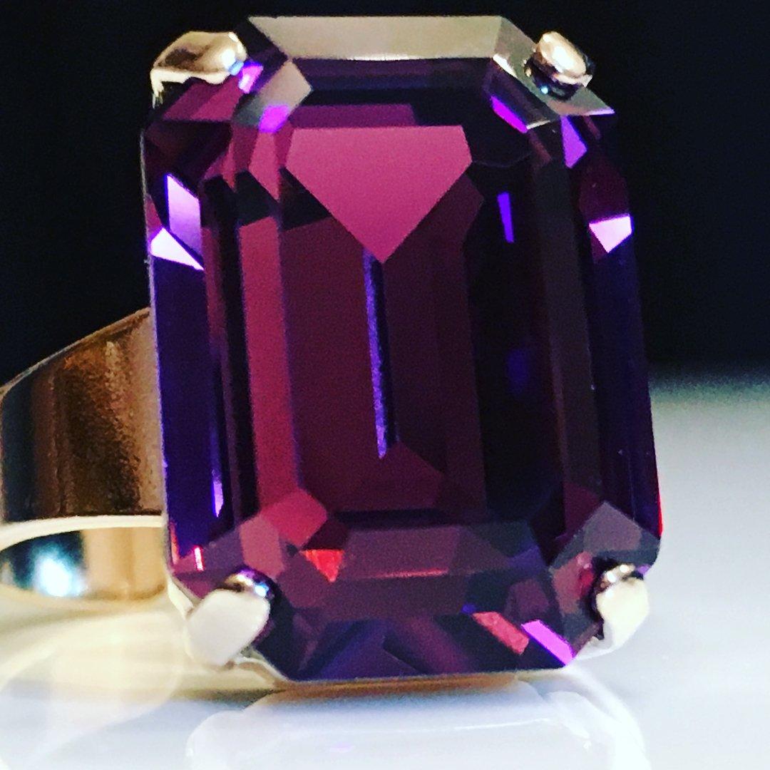 Style Ring Amethyst