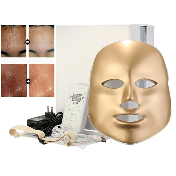 LED Mask Gold