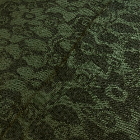 Balkongblomma - mossgrön / grönblå