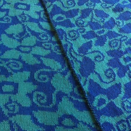 Balkongblomma - blå / turkos